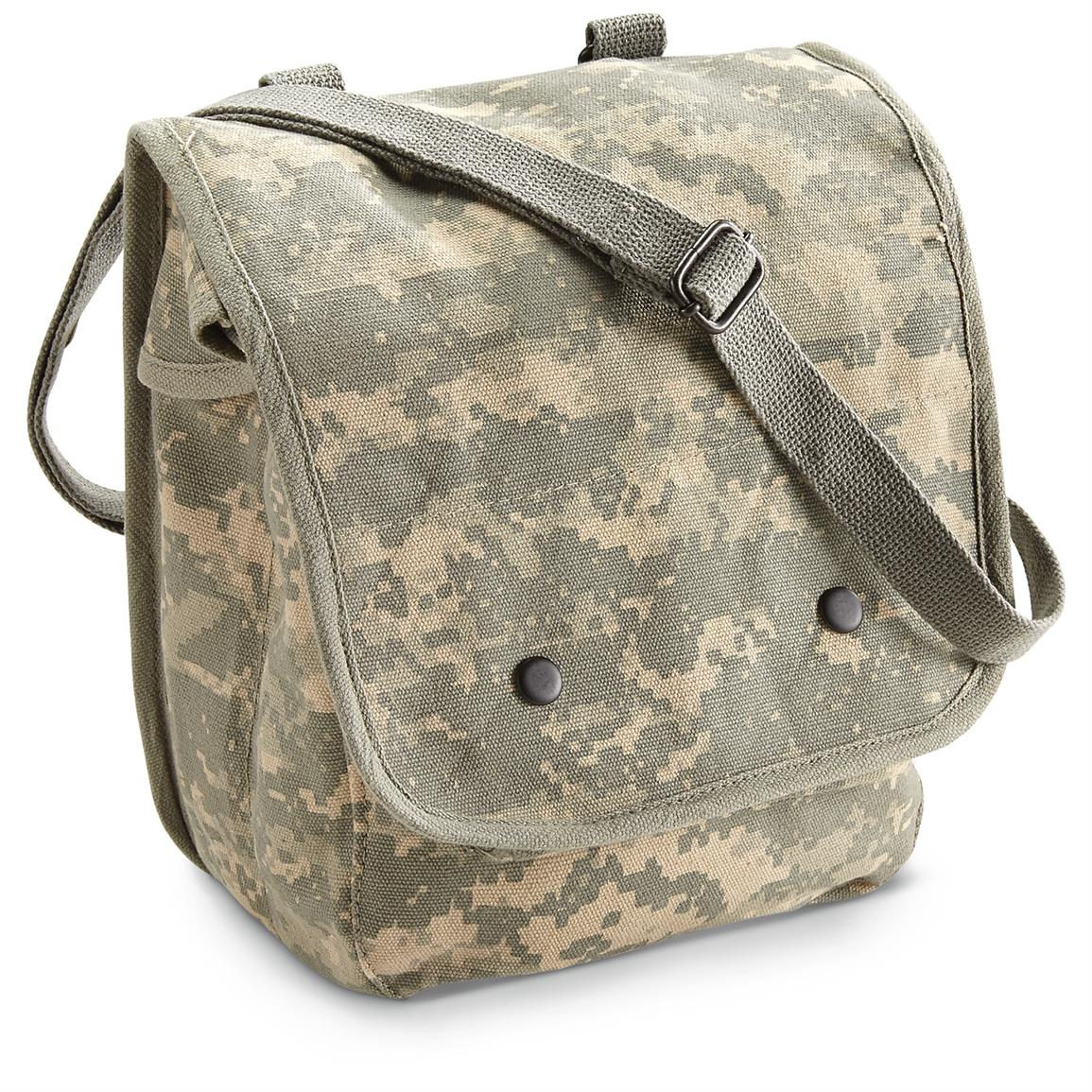 Military Style Map Bags, New, 2 Pack, Army Digital