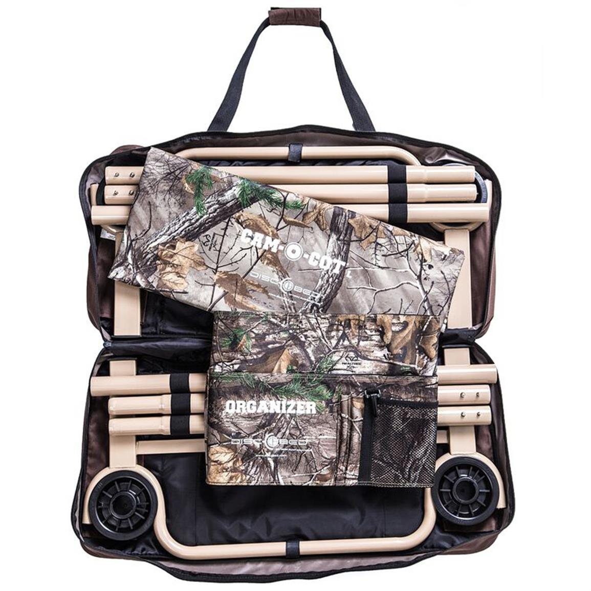 All parts pack down into 2 included zippered canvas bags for easy storage and transport