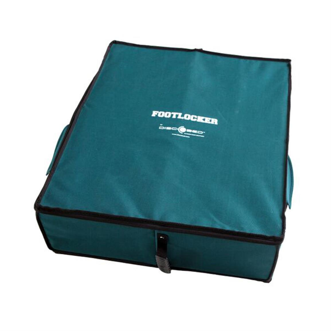 Water-resistant polyester with zippered, lockable closure