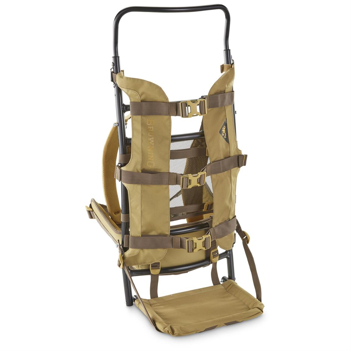 browning bull 1000 external frame pack