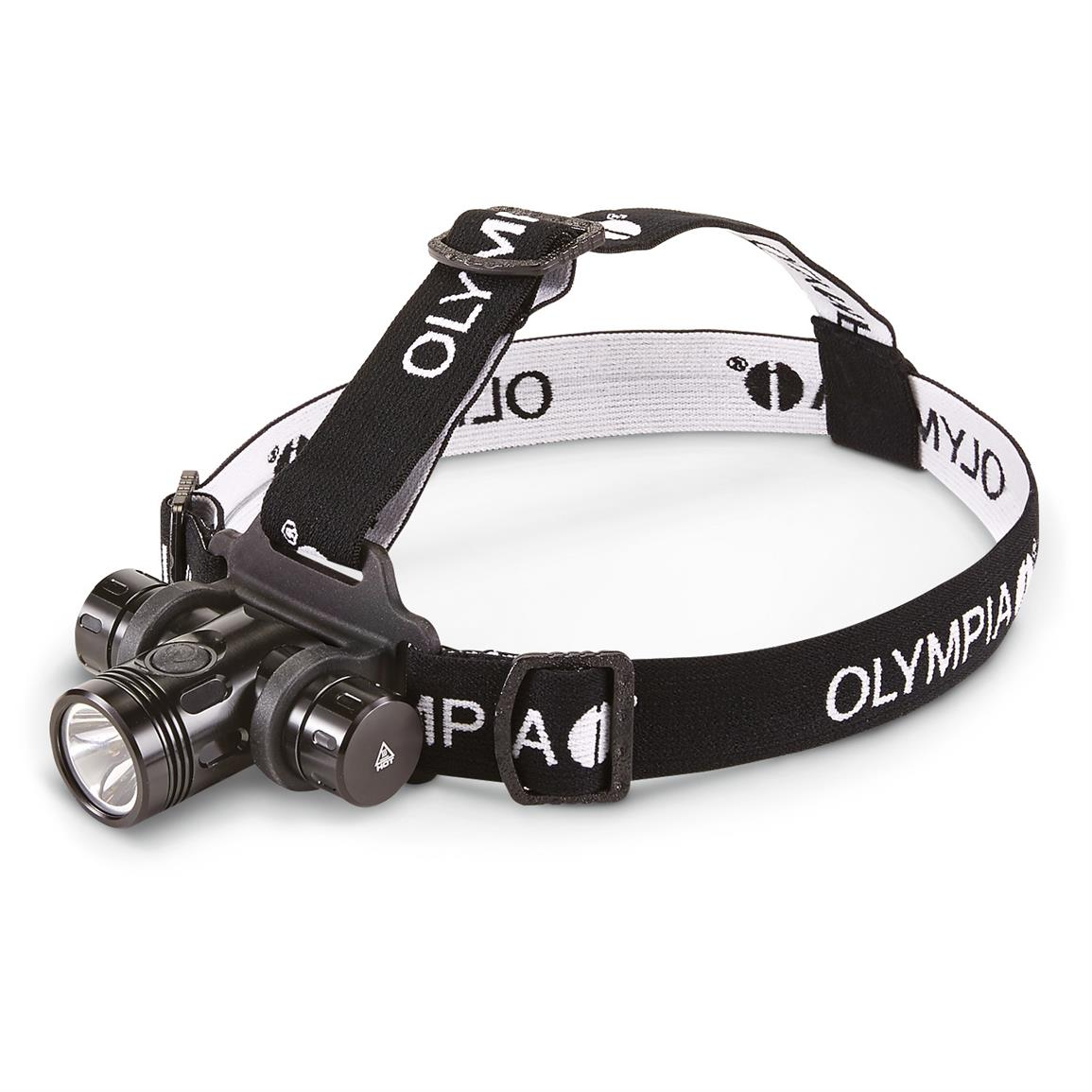 Olympia Explorer Series Waterproof Headlamp, 550 Lumen