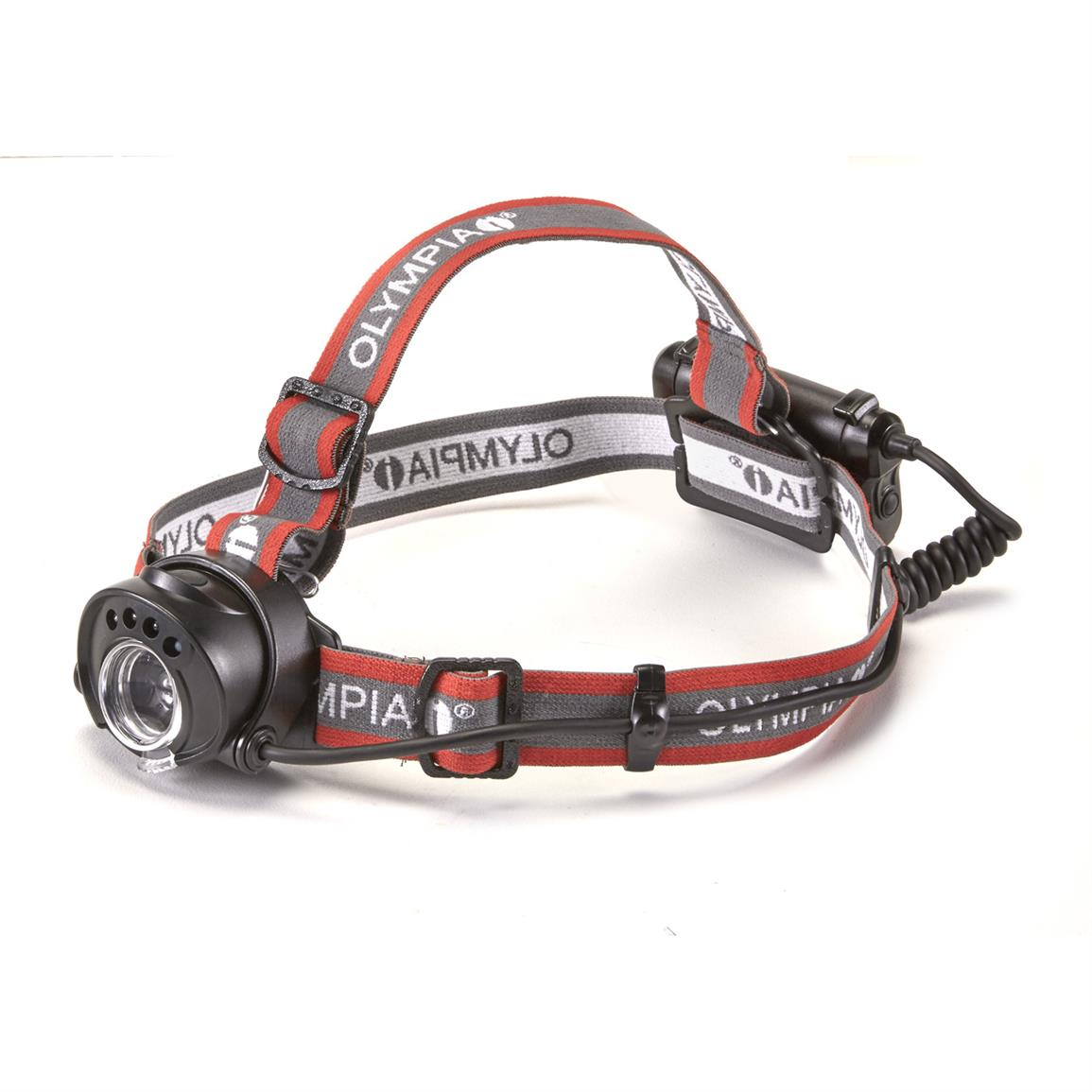 Olympia Explorer Series Motion Activated Headlamp, 100 Lumen