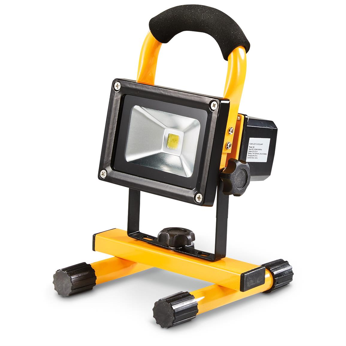 Rechargeable Waterproof Work Light, 450 Lumen