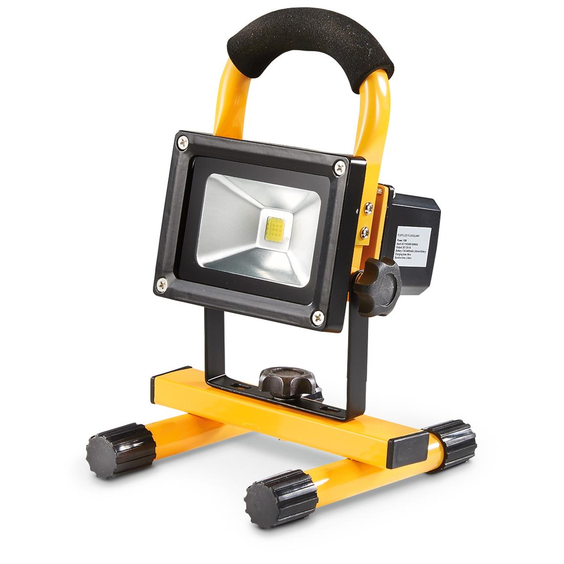 Rechargeable Waterproof Work Light, 900 Lumen