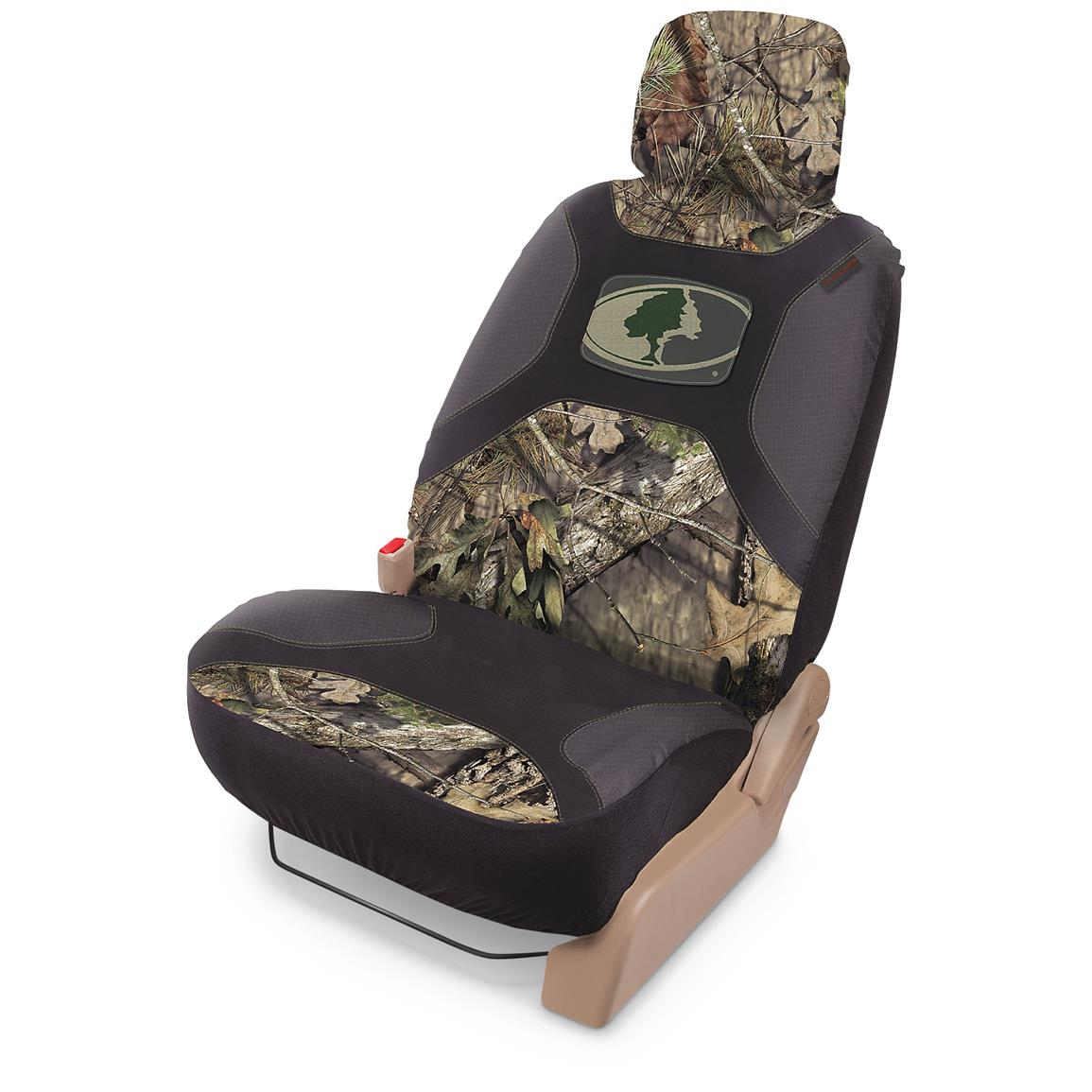 Universal Low-back Camo Seat Cover, Mossy Oak