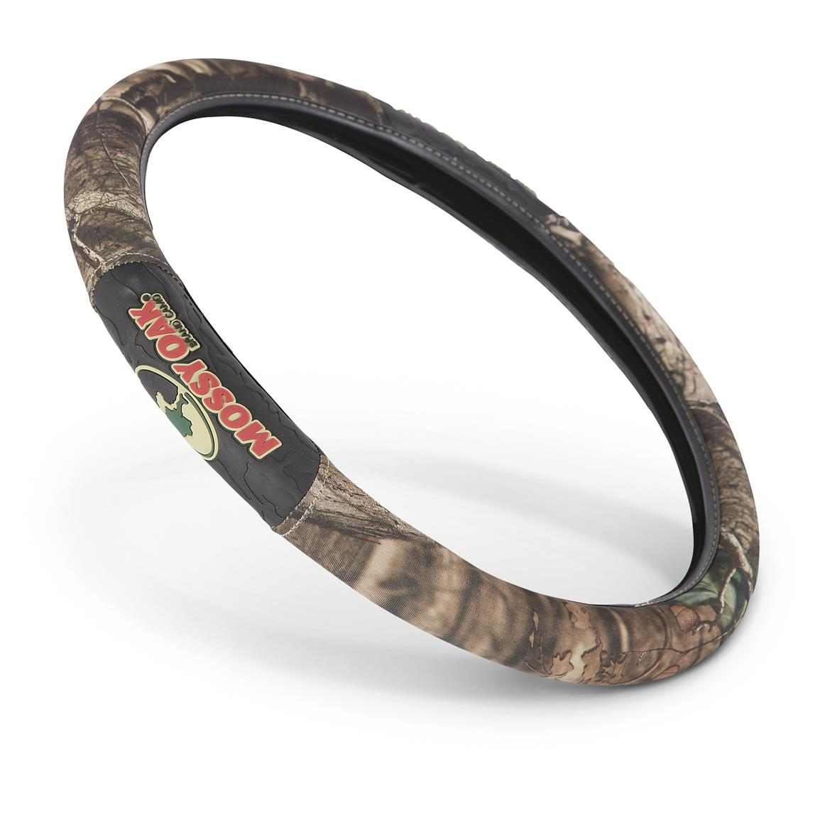 2-grip Universal Camo Steering Wheel Cover, Mossy Oak