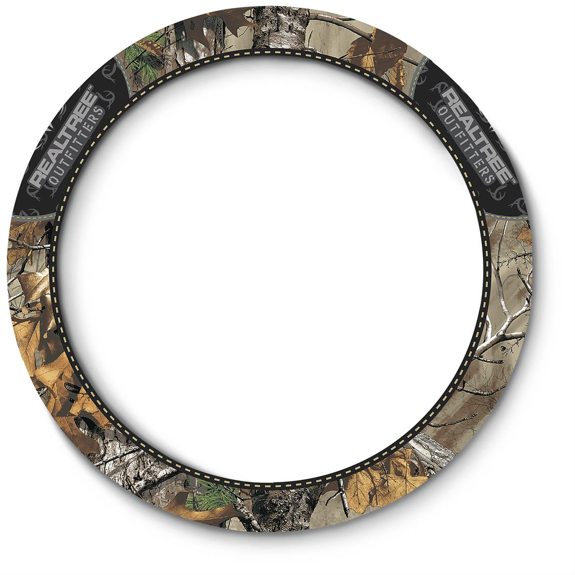 2-grip Universal Camo Steering Wheel Cover, Realtree Outfitters