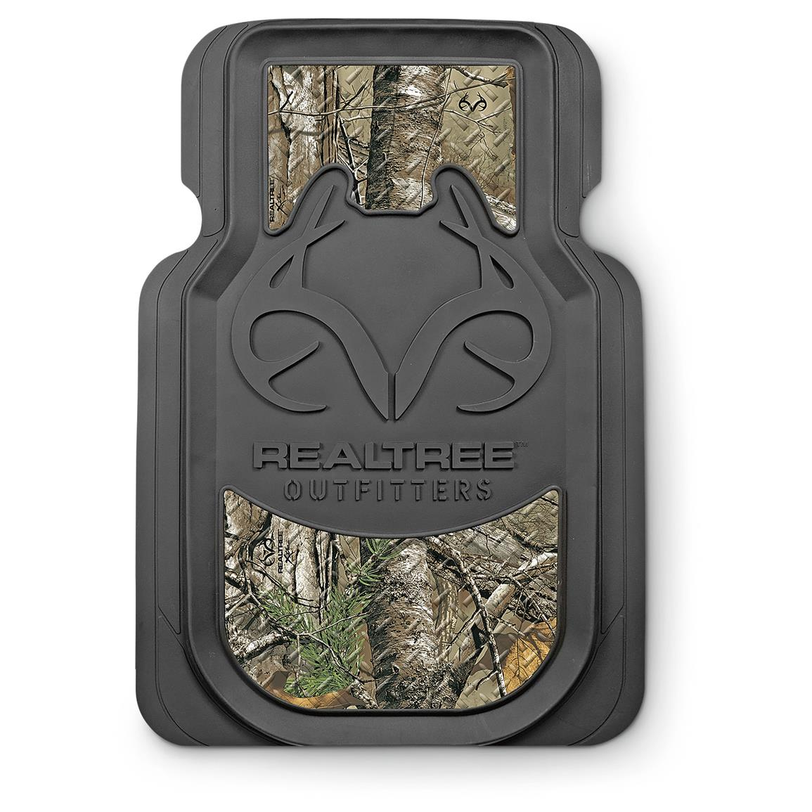 2-Pk. of Universal Camo Floor Mats, Realtree Outfitters