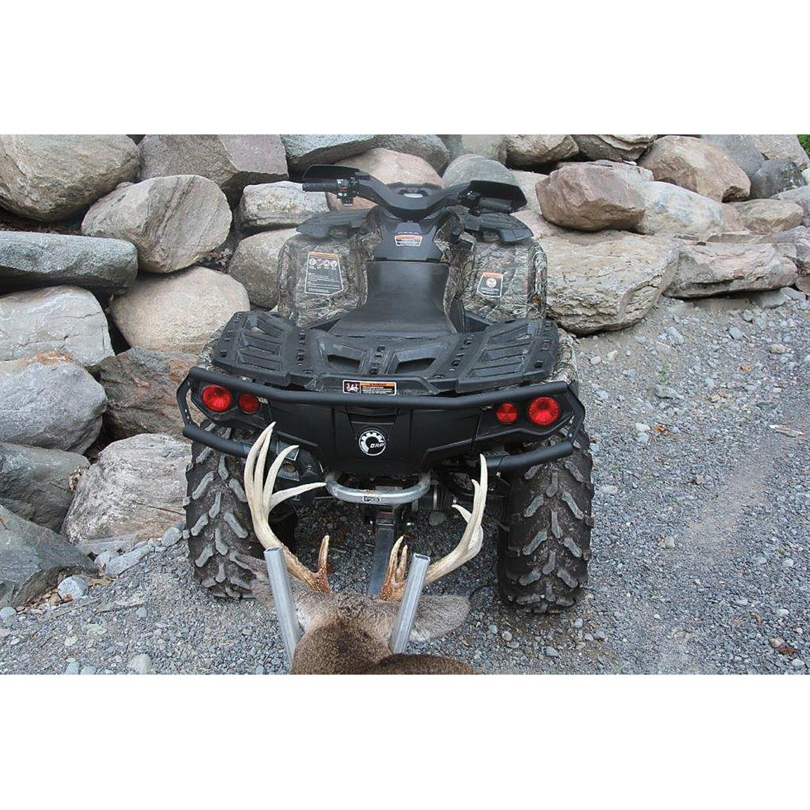Durable aluminum welded design handles demanding field hunting situations