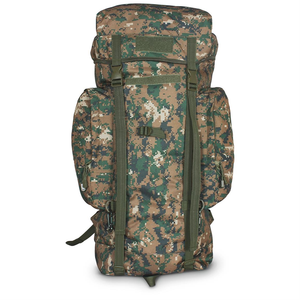 Fox Tactical Rio Grande Pack, 45 liters, Digital Woodland