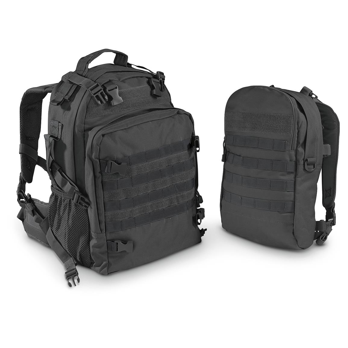 Fox Outdoors Dual Tactical Pack System, Black