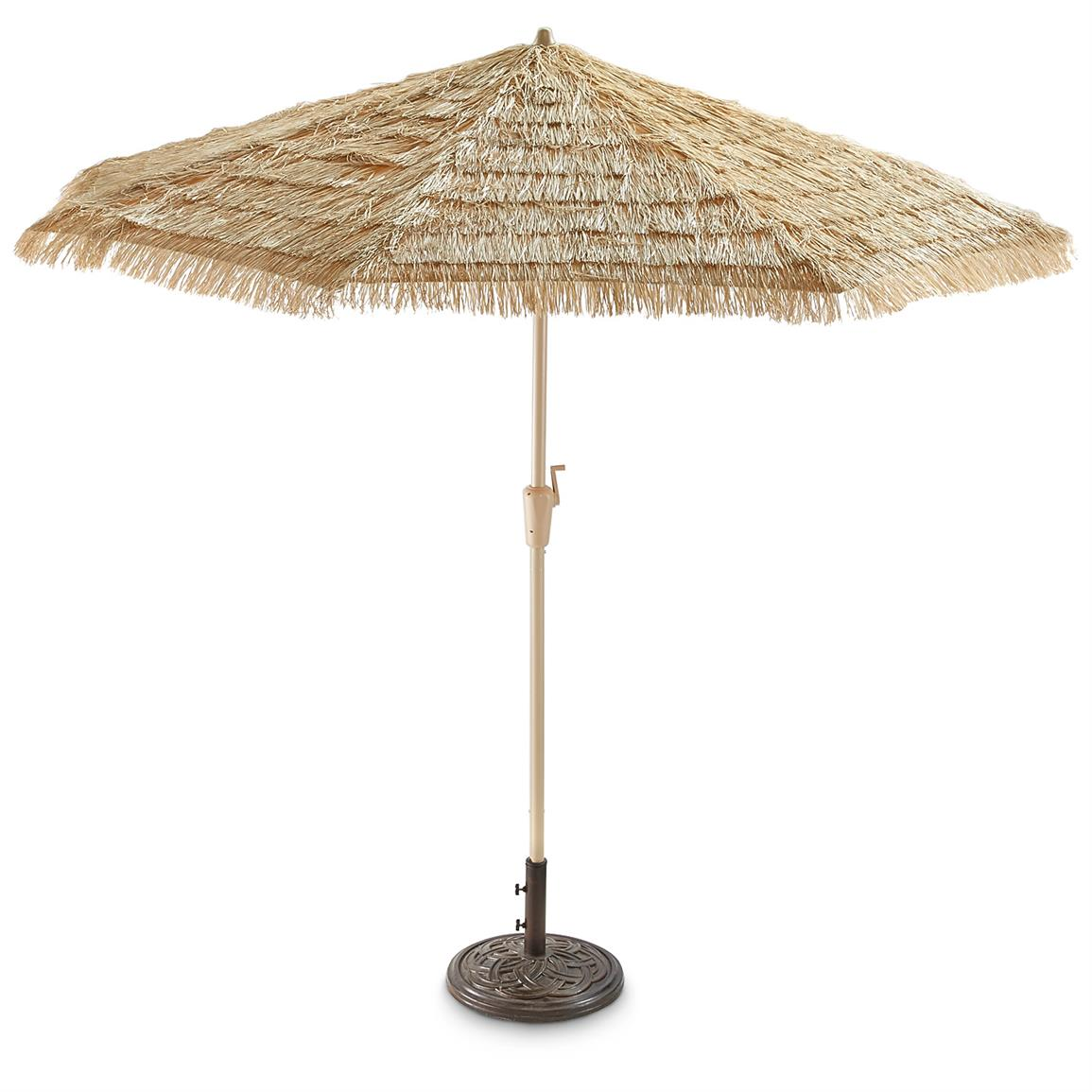 Castlecreek 9' Thatched Tiki Umbrella