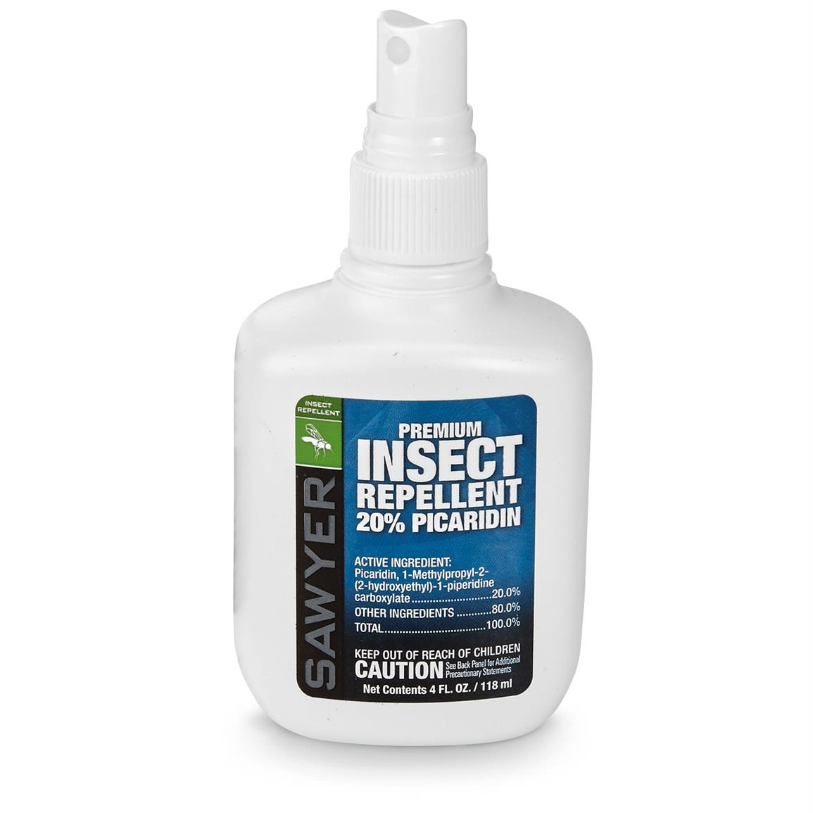 Sawyer Picaridin Insect Repellent, 4 oz