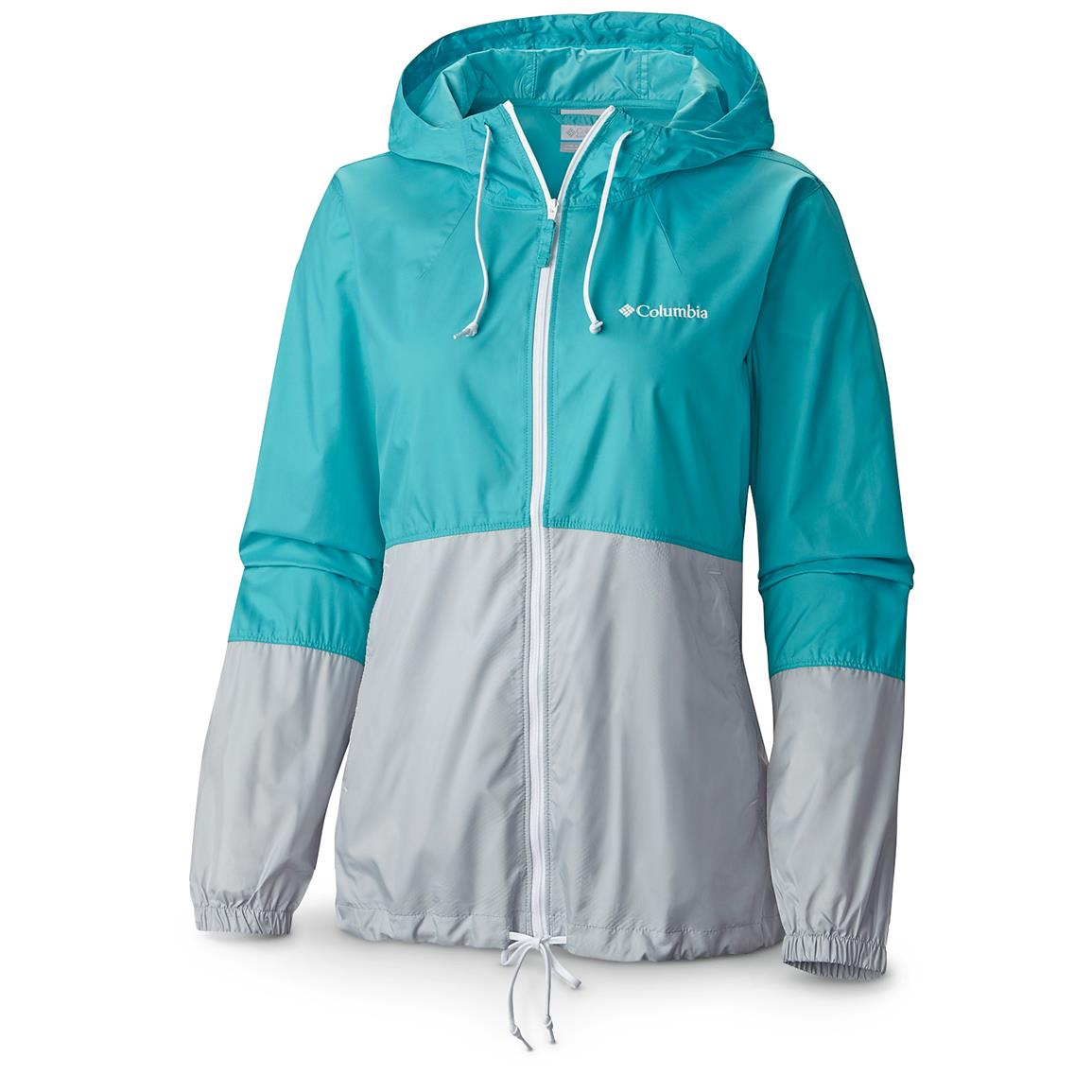 Columbia Women's Flash Forward Windbreaker Jacket, Miami / Cirius