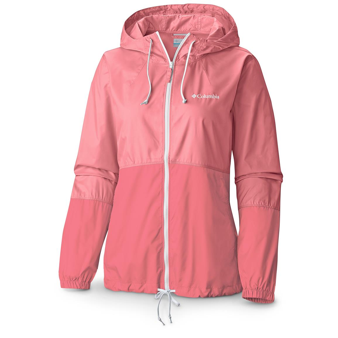 Columbia Women's Flash Forward Windbreaker Jacket, Rosewater