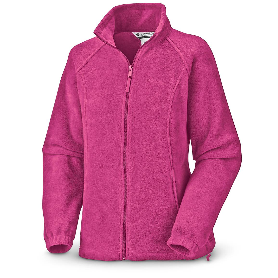 Columbia Women's Benton Springs Full-zip Fleece Jacket, Haute Pink