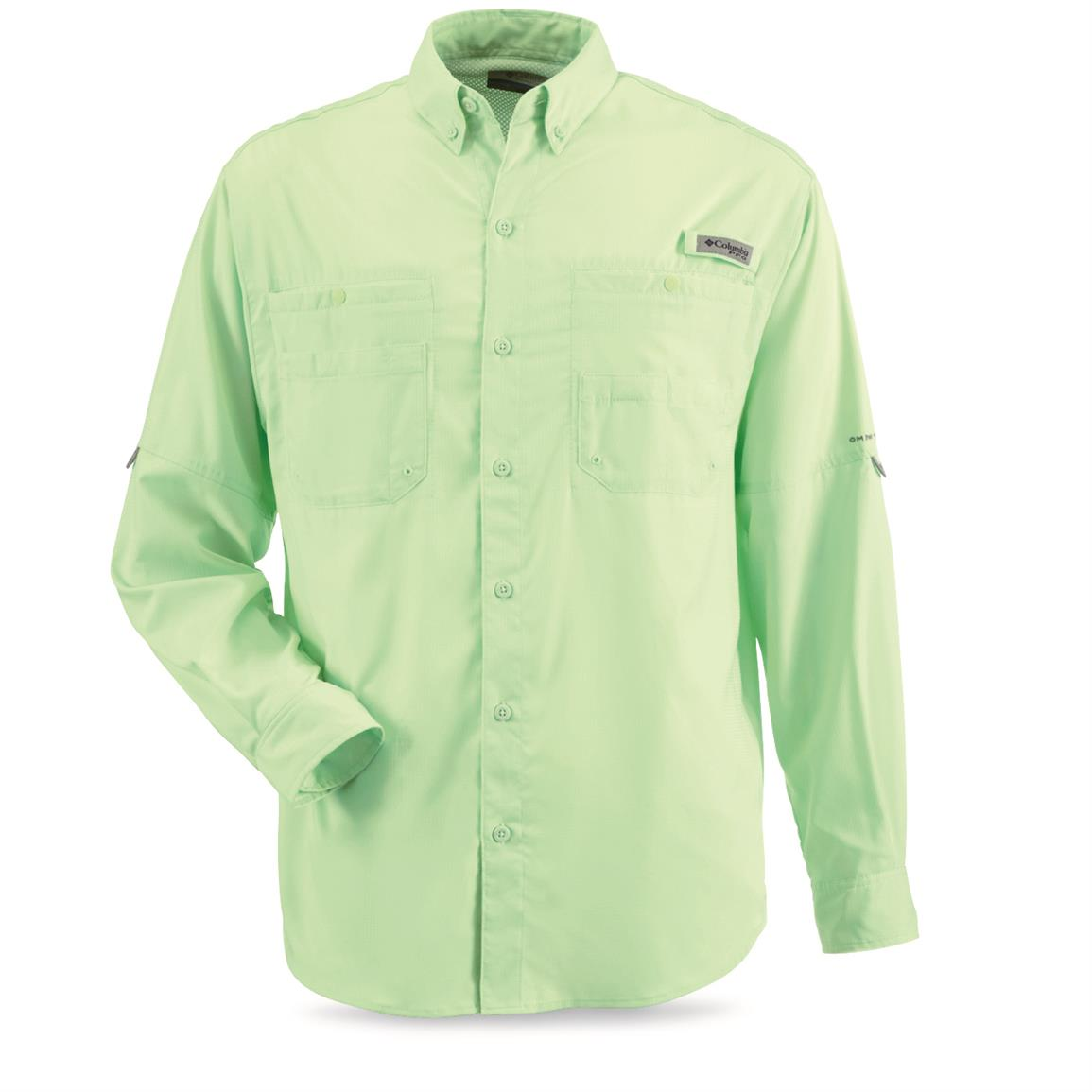 Columbia Men's PFG Tamiami II Long-Sleeve Shirt, Key West
