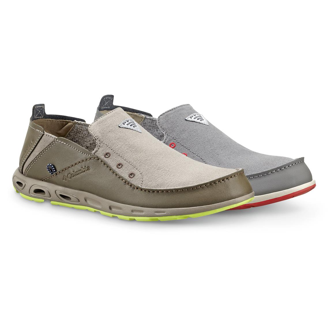 Columbia Men's Bahama Vent PFG Slip-On Boat Shoes