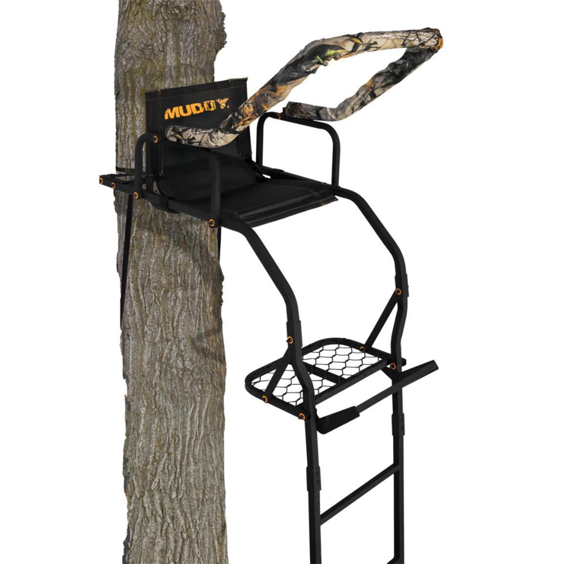 Muddy The Outlander Ladder Tree Stand, 17'