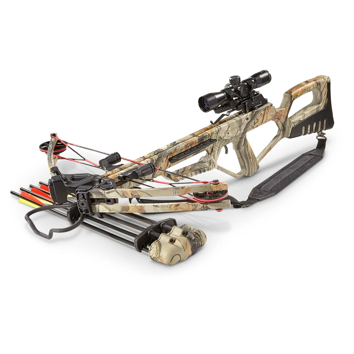 Falcon 370 DX Extreme Crossbow with BONUS Kit