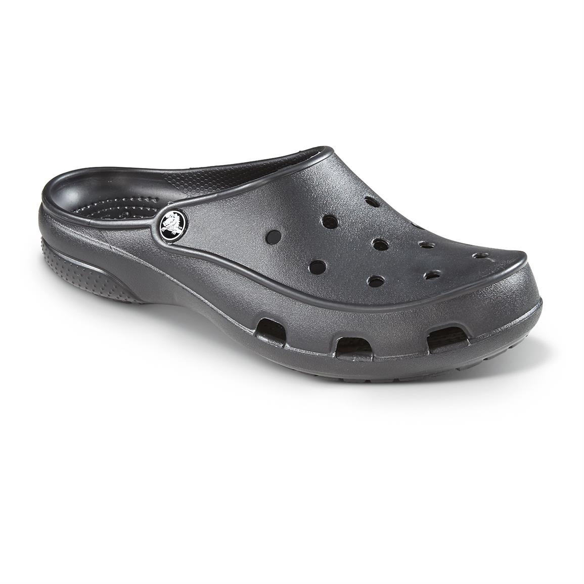 Crocs Women's Freesail Clogs, Black