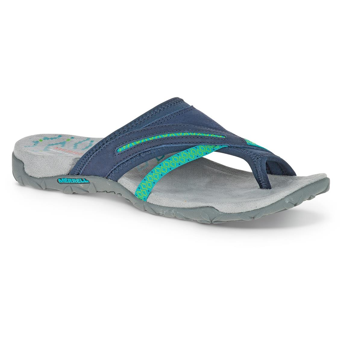 Merrell Women's Terran Post II Sandals, Navy