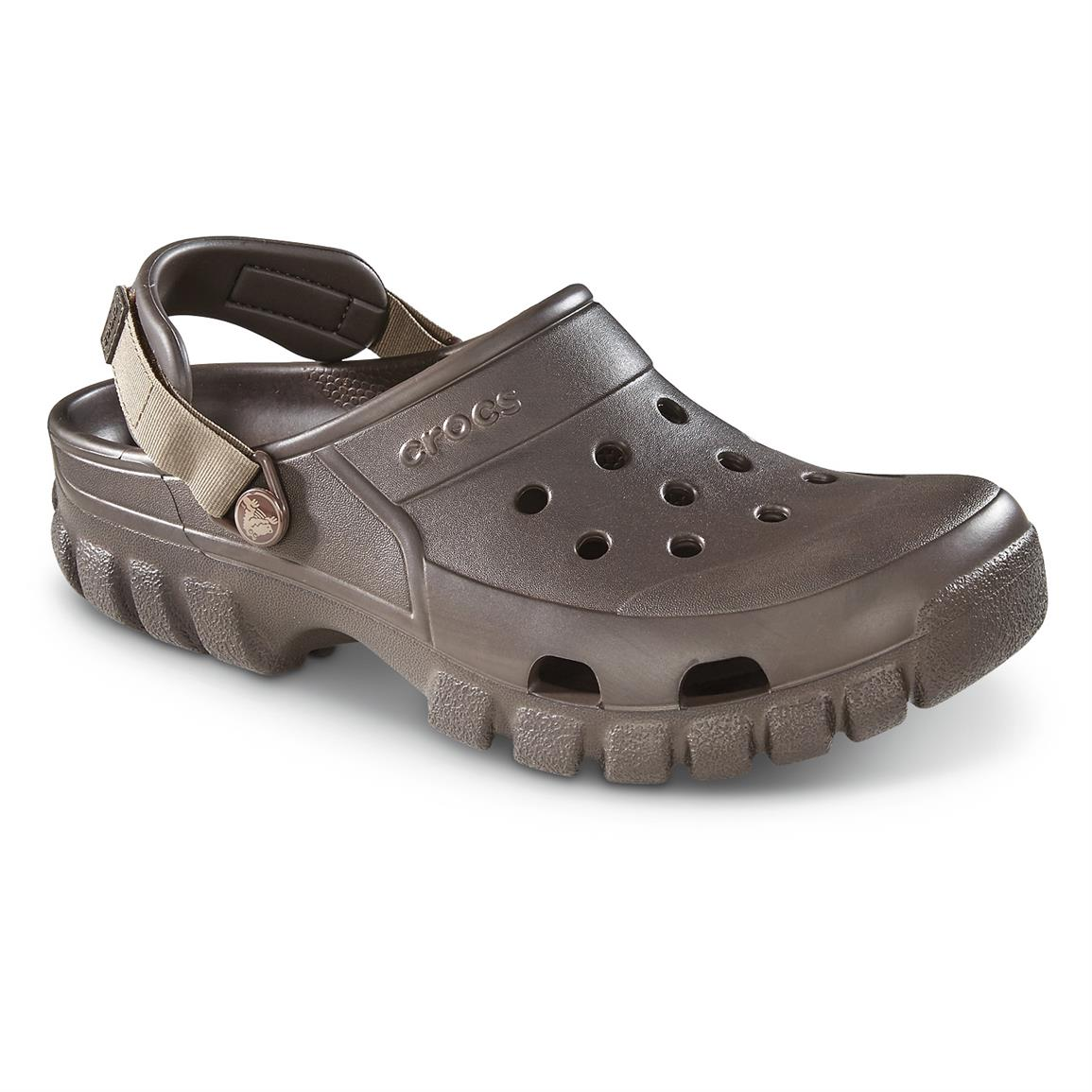 Crocs Men's Offroad Sport Clogs, Espresso / Walnut