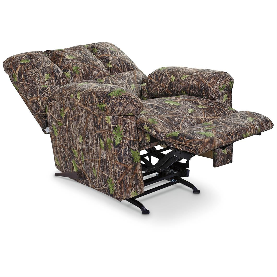 Kick back and relax with full recline