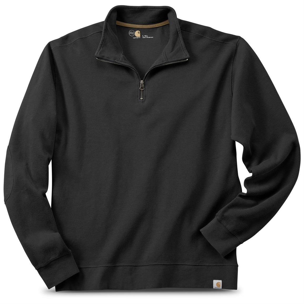 Carhartt Quarter-zip Sweater, Irregular, Black