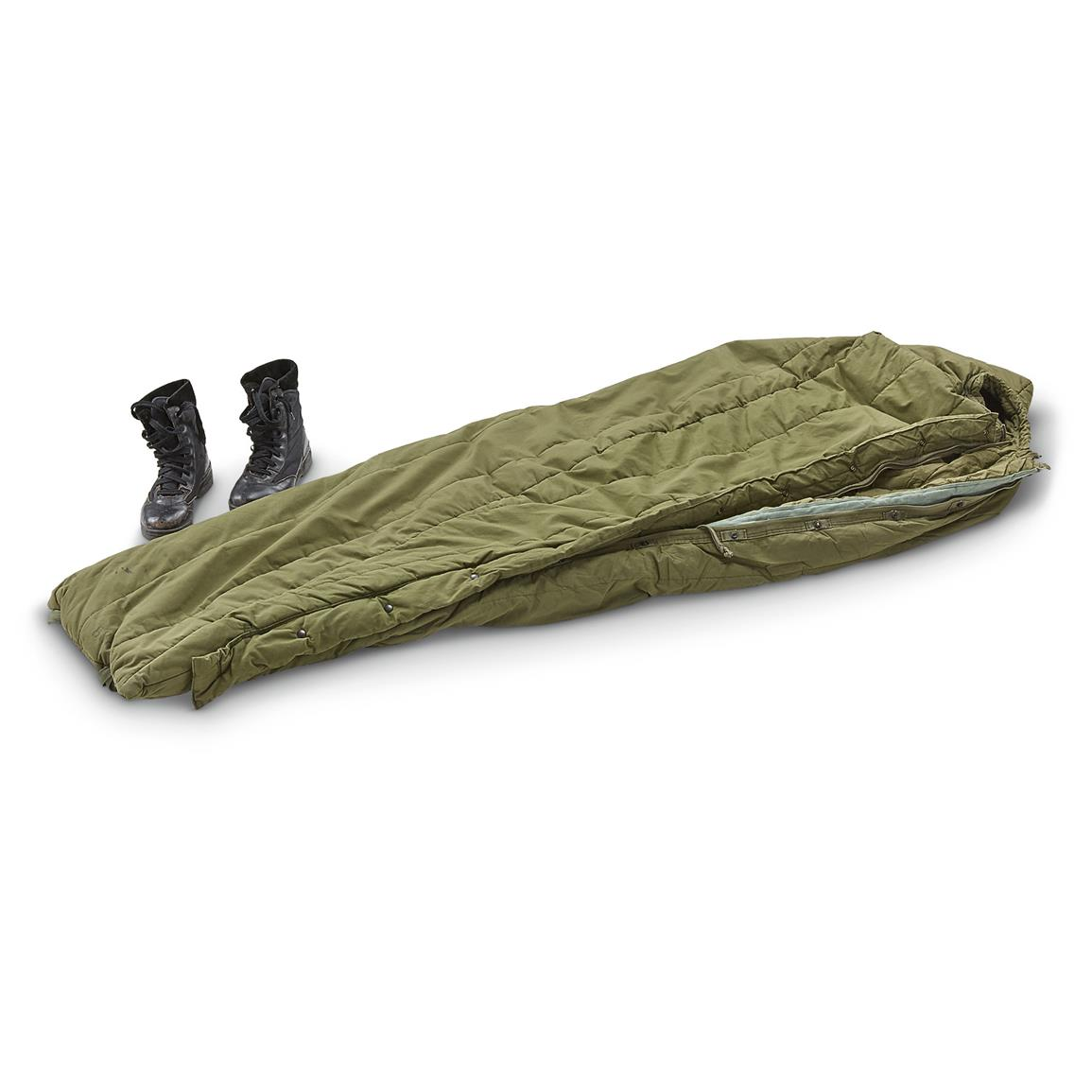 Used U.S. Military Surplus Intermediate Sleeping Bag