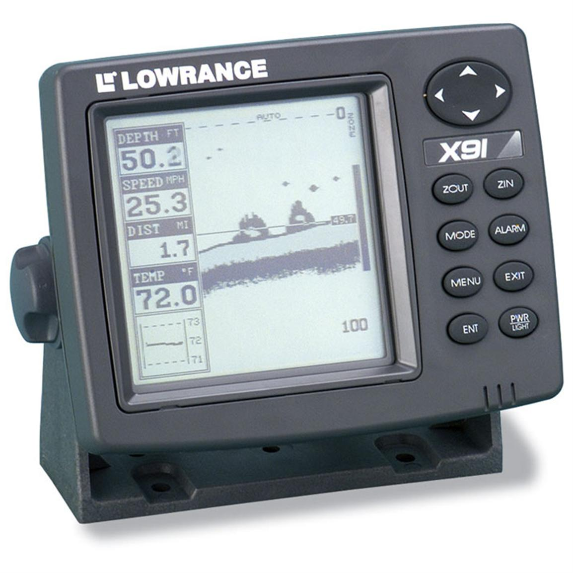 lowrance x91 fish finder 65606 at sportsman 39 s guide