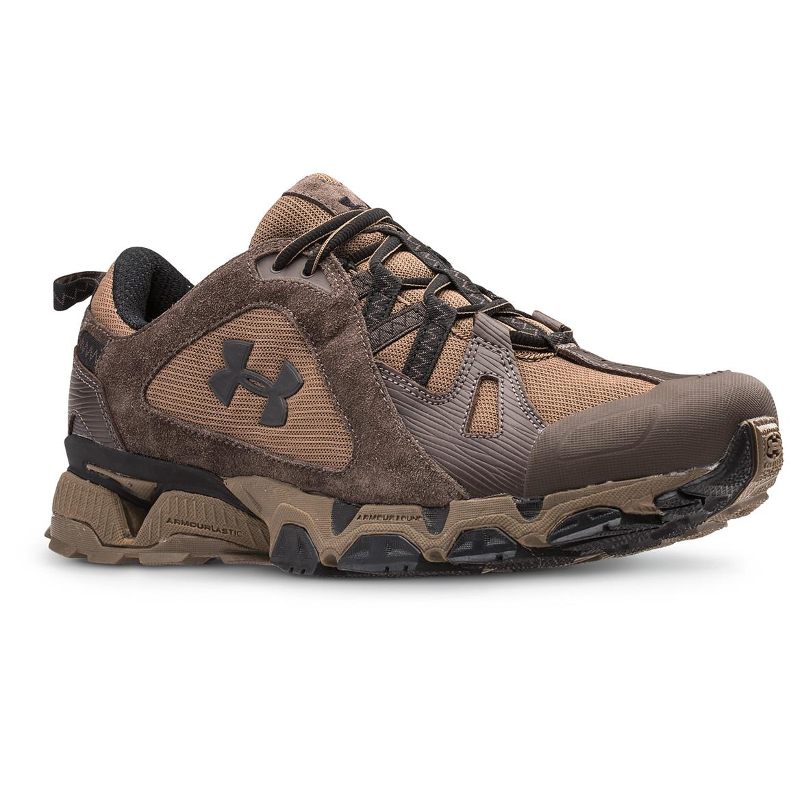 Under Armour Men's Chetco Trail Running Shoes, Maverick Brown