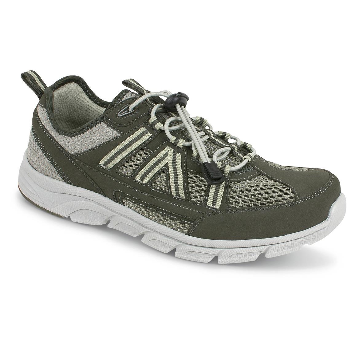 Rugged Shark Men's Captiva Sport-Athletic Shoes, Olive