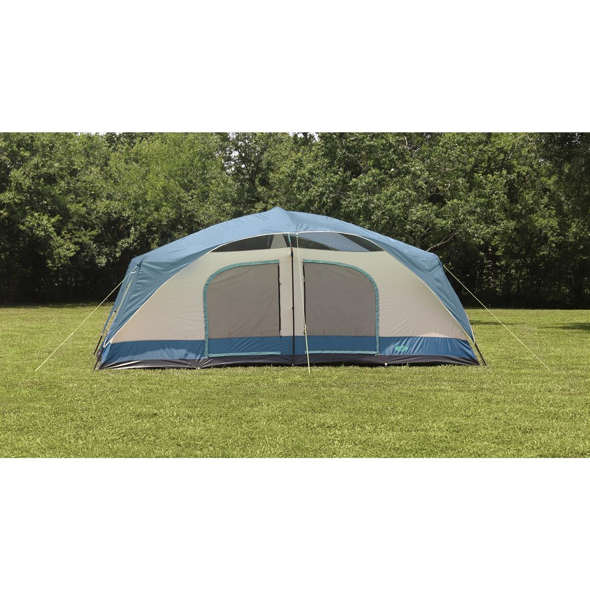 Texsport Blue Mountain 2-Room Cabin Dome Tent