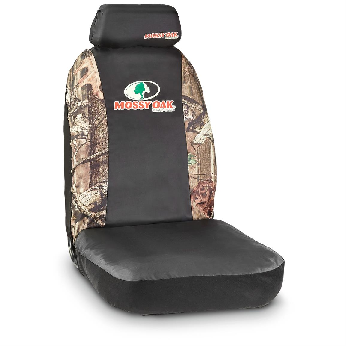 Camo Seat Cover Kit, Bucket Seat, Mossy Oak Break-Up Infinity