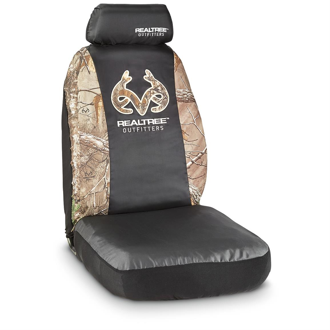 Camo Seat Cover Kit, Bucket Seat, Realtree Xtra