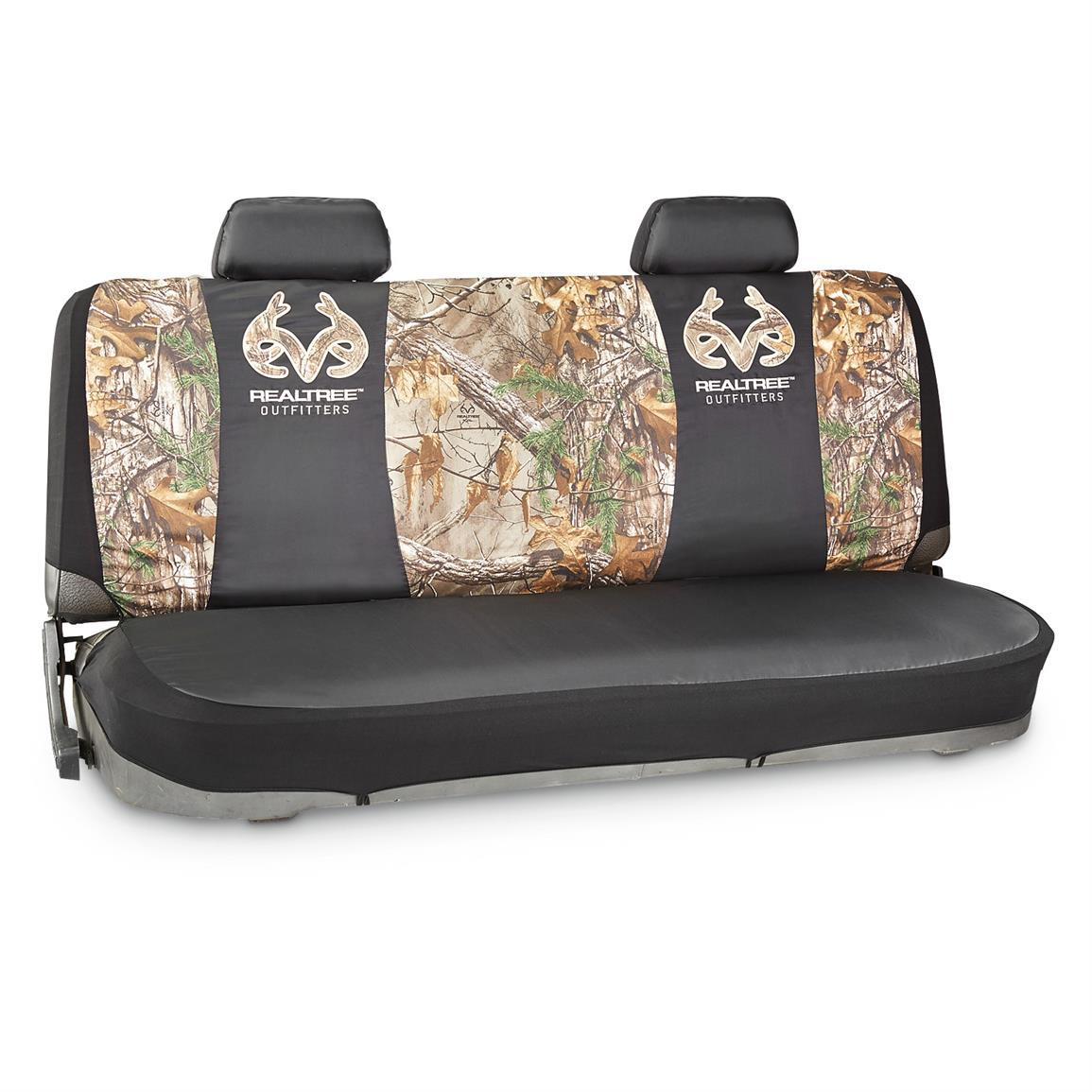 Camo Seat Cover Kit, Bench, Realtree Xtra