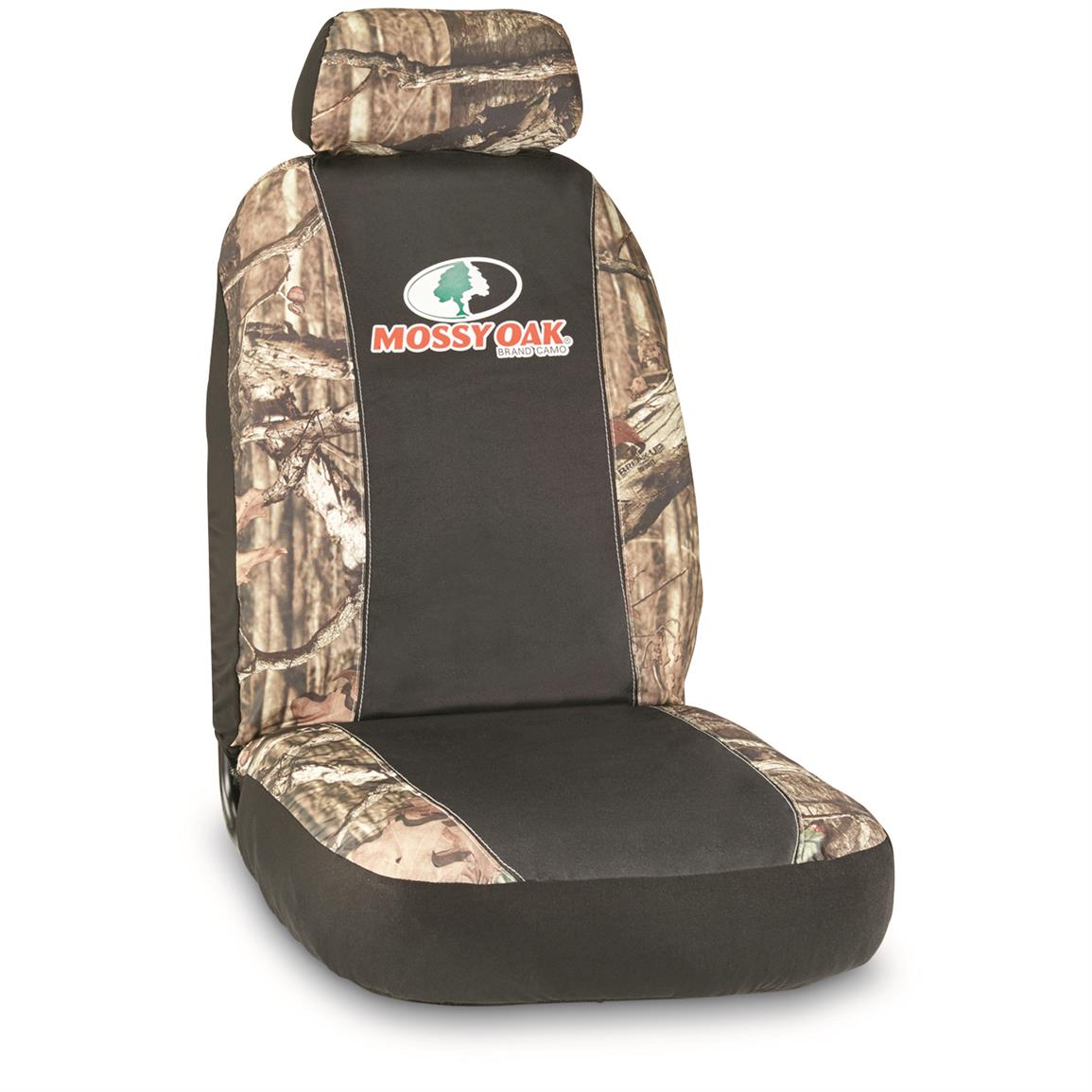 Low-back Camo Seat Cover, Mossy Oak Break-Up Infinity