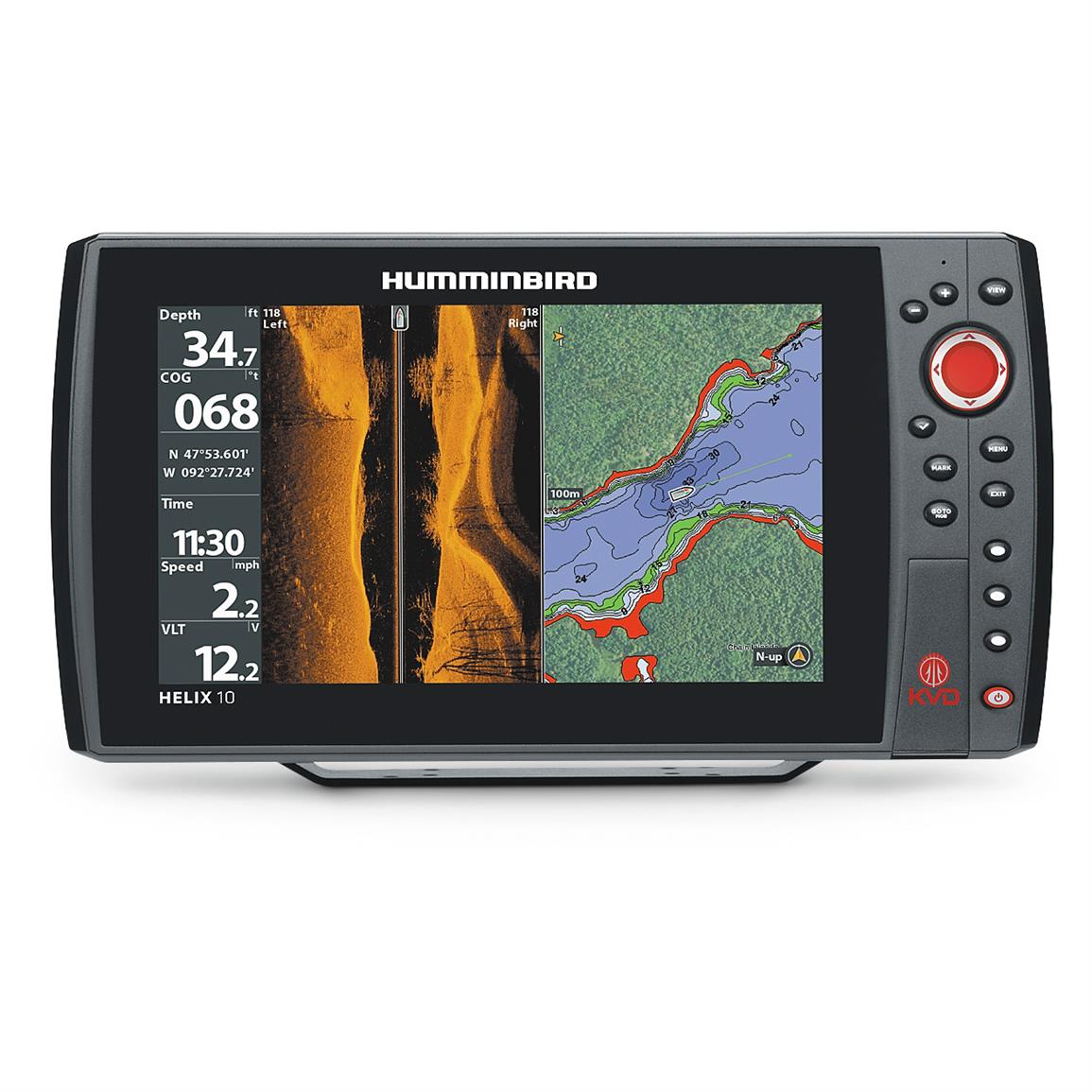 Humminbird HELIX 10 SI KVD Fish Finder GPS Combo