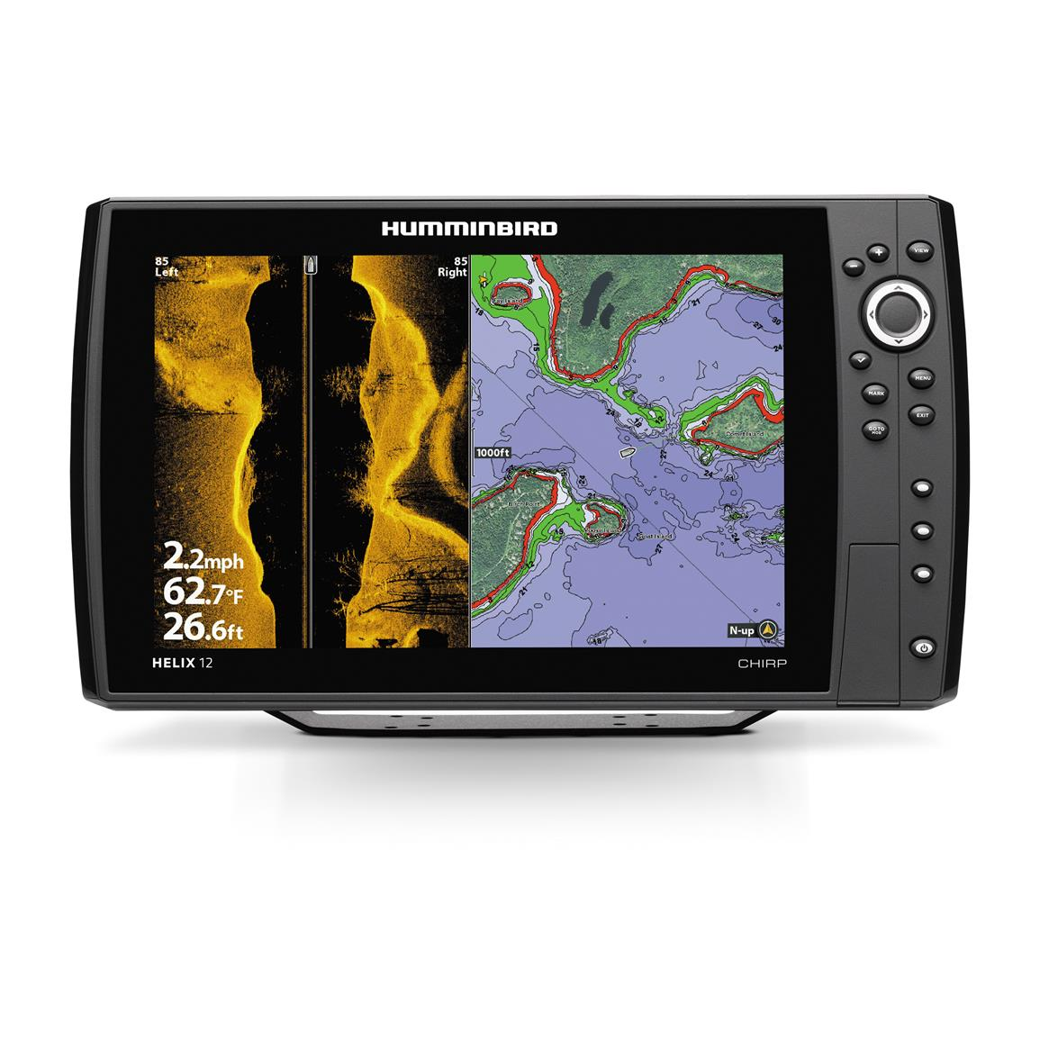 humminbird helix 12 chirp si sonar fish finder gps combo - 657213, Fish Finder