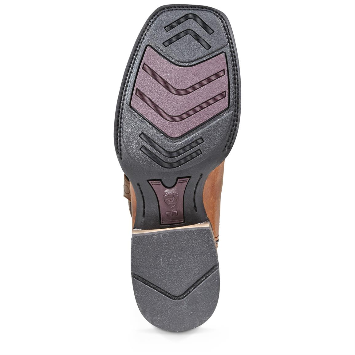 Duratread™ rubber outsole for traction