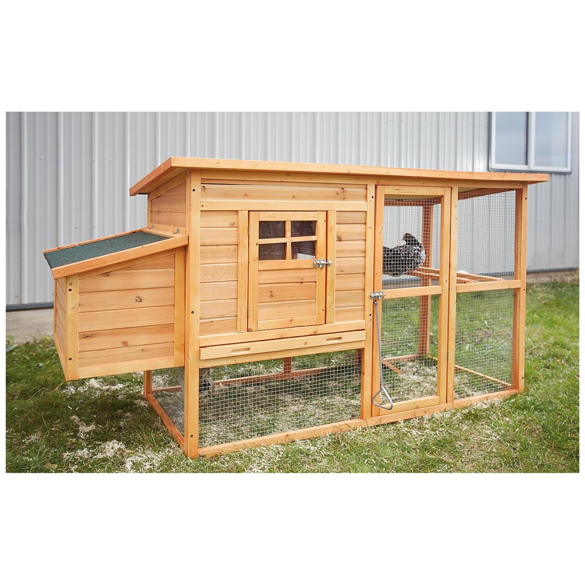 CASTLECREEK Backyard Chicken Coop