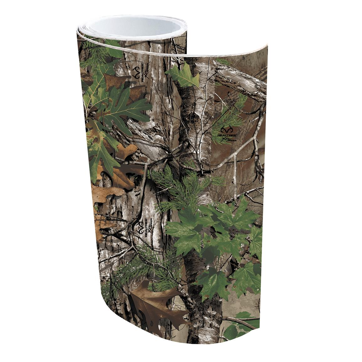 Realtree Camo Graphics Adhesive Realtree Camo Accessory Kit, Realtree Xtra Green