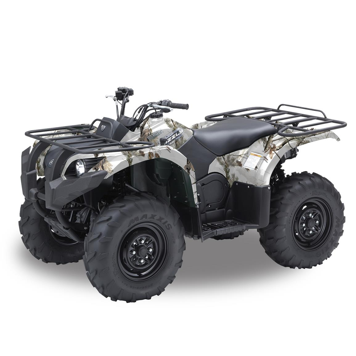 Realtree Camo Graphics ATV Camo Kit, 40 Square Feet, Realtree Ap Snow