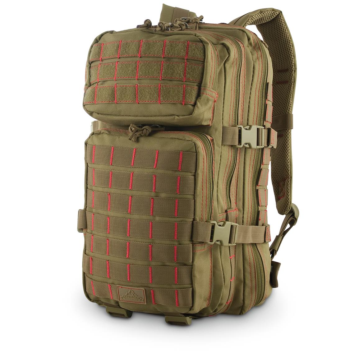 Red Rock Rebel Assault Pack, Coyote / Red