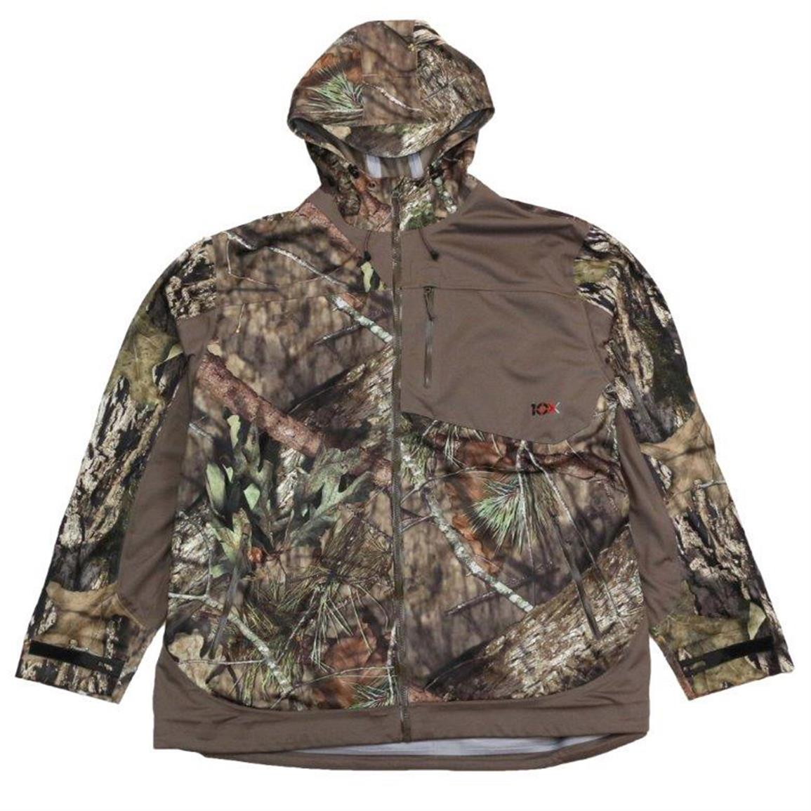 10X Men's Rain Jacket, Realtree Xtra