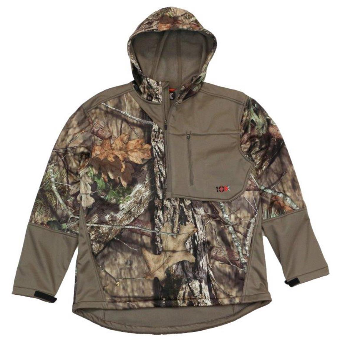 10X Men's Tech Hoodie, Realtree Xtra