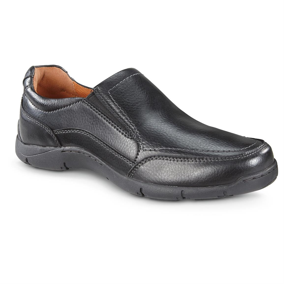 Streetcars Men's Daytona Slip-on Shoes, Black
