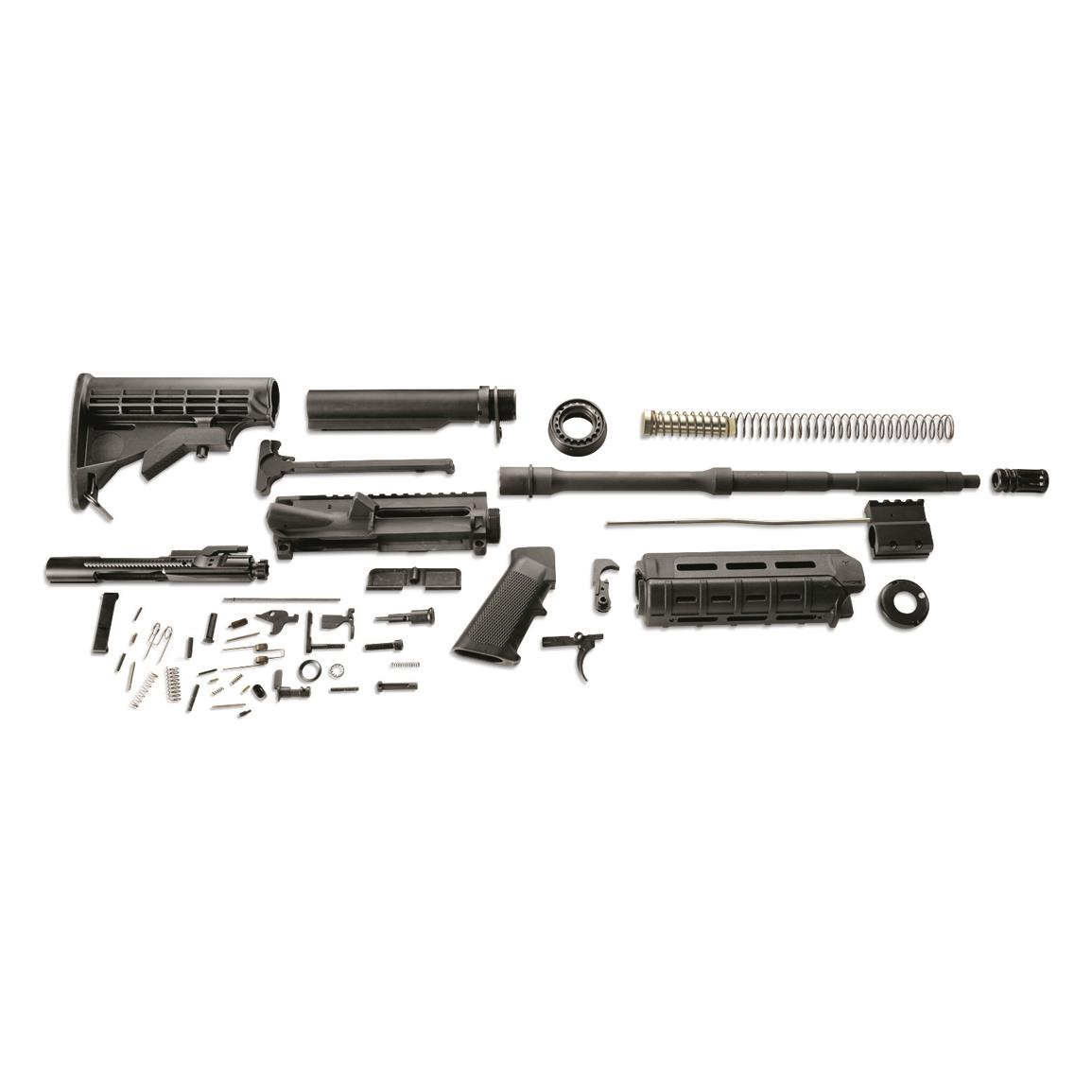 A full set of parts to satisfy your next gun project!