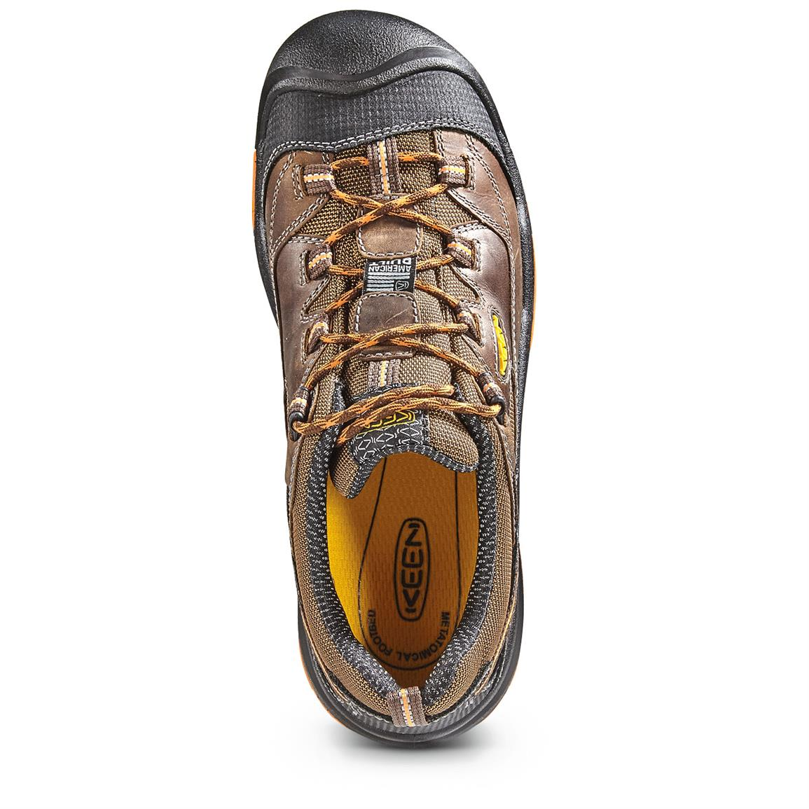 Removable, metatomical, dual-density EVA footbed provides support and cushioning